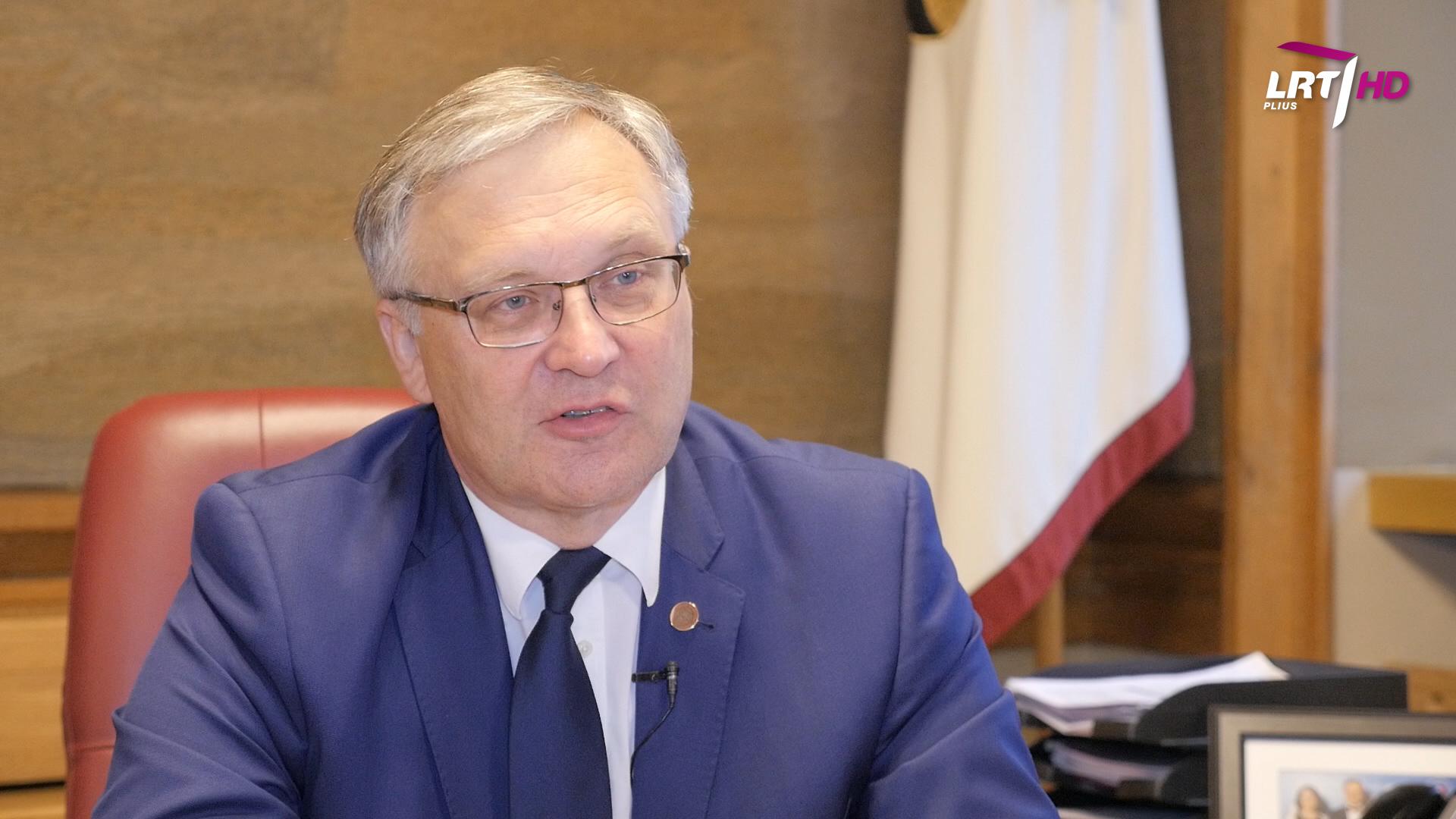 Vilniaus universiteto rektorius Artūras Žukauskas | LRT nuotr.
