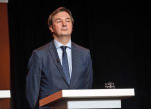 Naujuoju Vilniaus universiteto rektoriumi išrinktas prof. dr. Rimvydas Petrauskas   vu.lt, E. Kurausko nuotr.