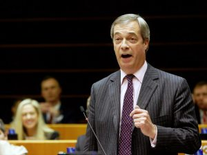 Naidželas Faradžas (Nigel Farage)   EP nuotr.