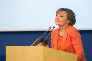 Diskusijos iniciatorė Seimo narė Virginija Vingrienė   lrs.lt nuotr.