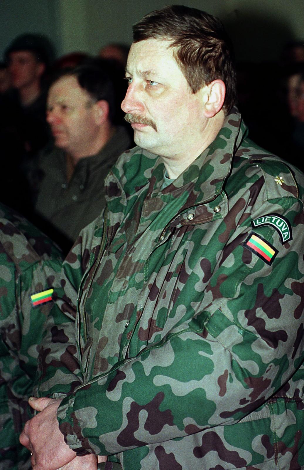 Buvęs savanoris Jonas Maskvytis   Eltos nuotr.
