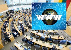 Seimą raginamas nepritarti Visuomenės informavimo įstatymo pataisoms | Alkas.lt koliažas