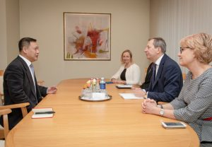 Susitikimas su Kinijos ambasadoriumi   lrv.lt nuotr.