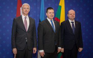 Baltijos šalių Vyriausybių vadovai | lrv.lt nuotr.