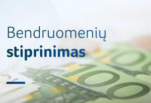 2020 metais bendruomenių stiprinimui – 2 mln. eurų | lrv.lt nuotr.