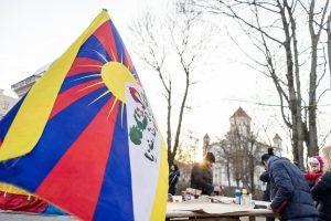 Dešimtmetį mininčiame Tibeto skvere bus švenčiami tibetiečių Naujieji metai – Losaras | lrt.lt nuotr.