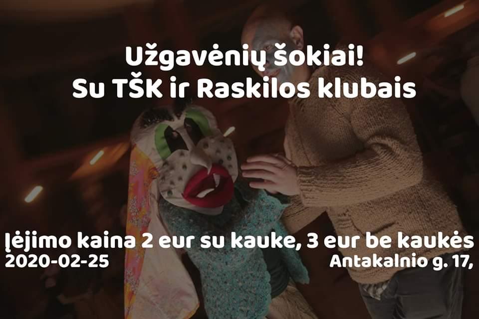 2020 02 25 Užgavėnių šokiai Vilniuje