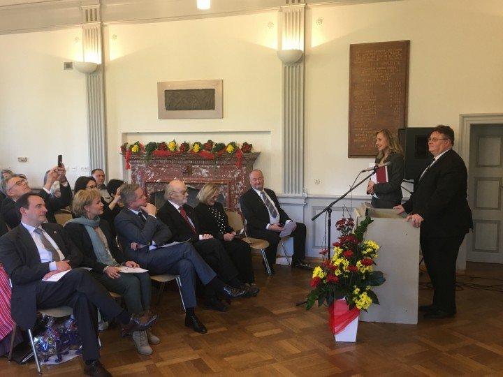 Švenčiame Lietuvos valstybės atkūrimo dieną ir gimnazijos jubiliejų | M. D. Šmito (Schmidt) nuotr.