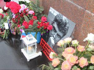 Maskvoje pagerbtas Boriso Nemcovo atminimas | urm.lt nuotr.