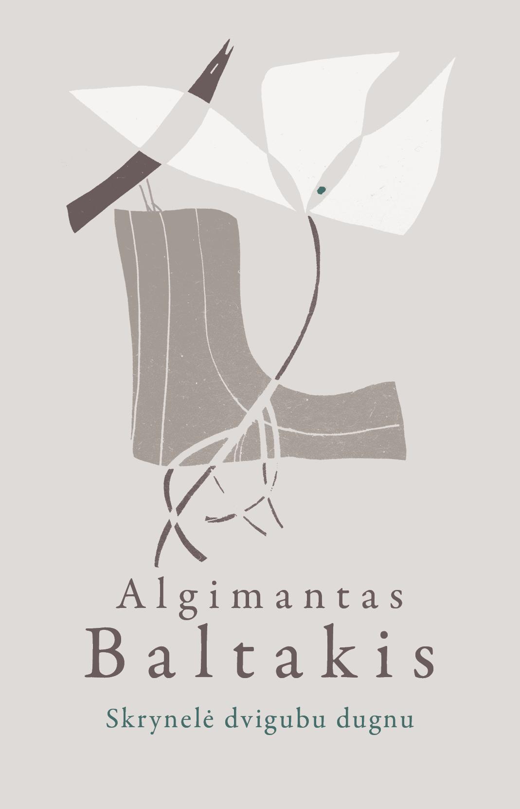 "A. Baltakio knygos ""Skrynelė dvigubu dugnu"" viršelis | Rašytojų klubo nuotr."