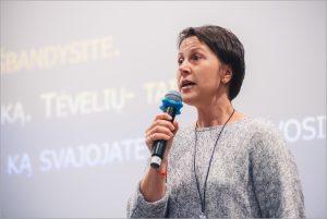 Lietuvos karjeros specialistų asociacijos vadovė, karjeros konsultantė Daiva Šilienė | Lietuvos karjeros specialistų asociacijos nuotr.