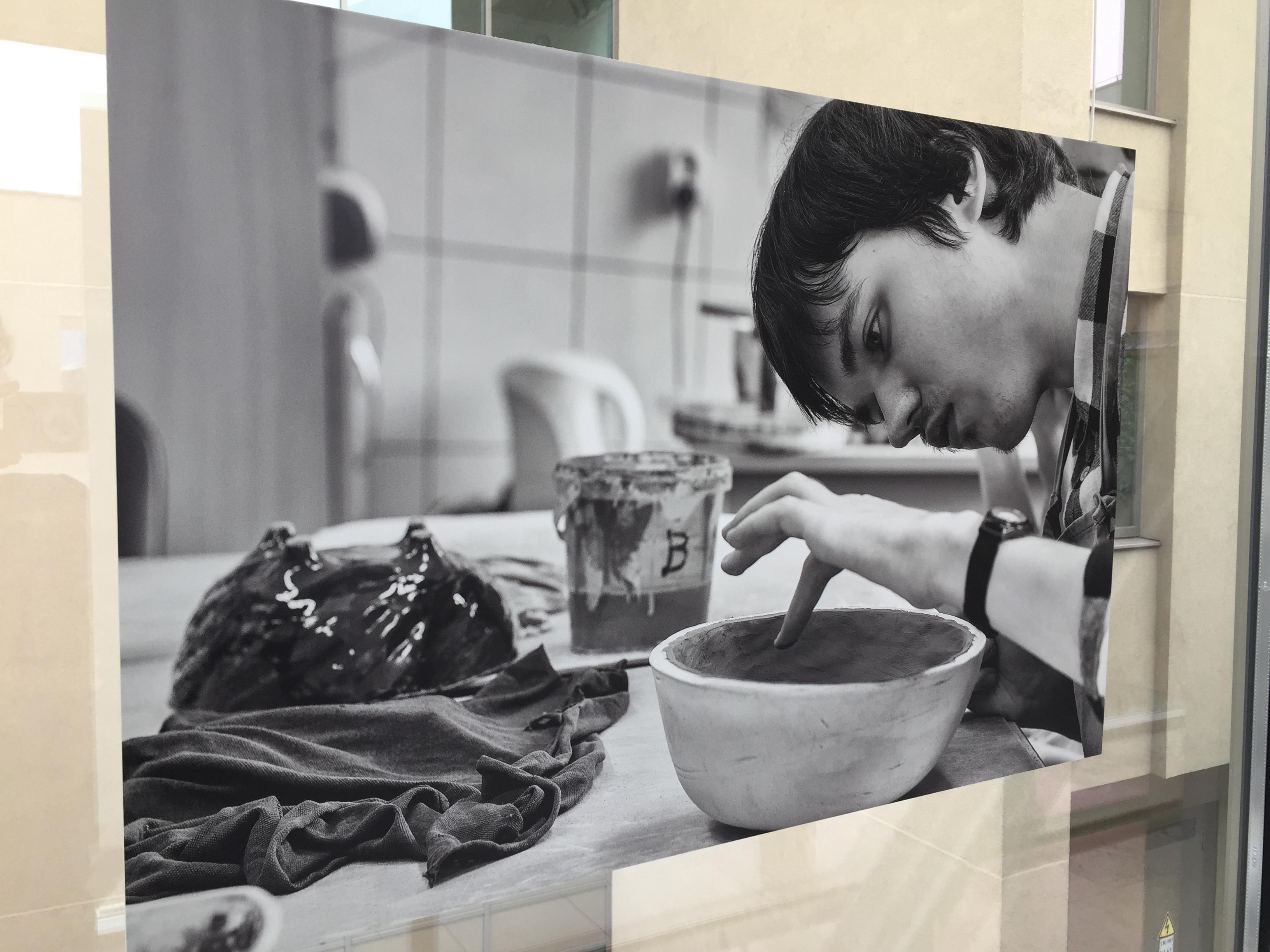 """Šarūno Sabaičio fotografijų paroda """"Mes esame""""   Š. Sabaičio nuotr."""