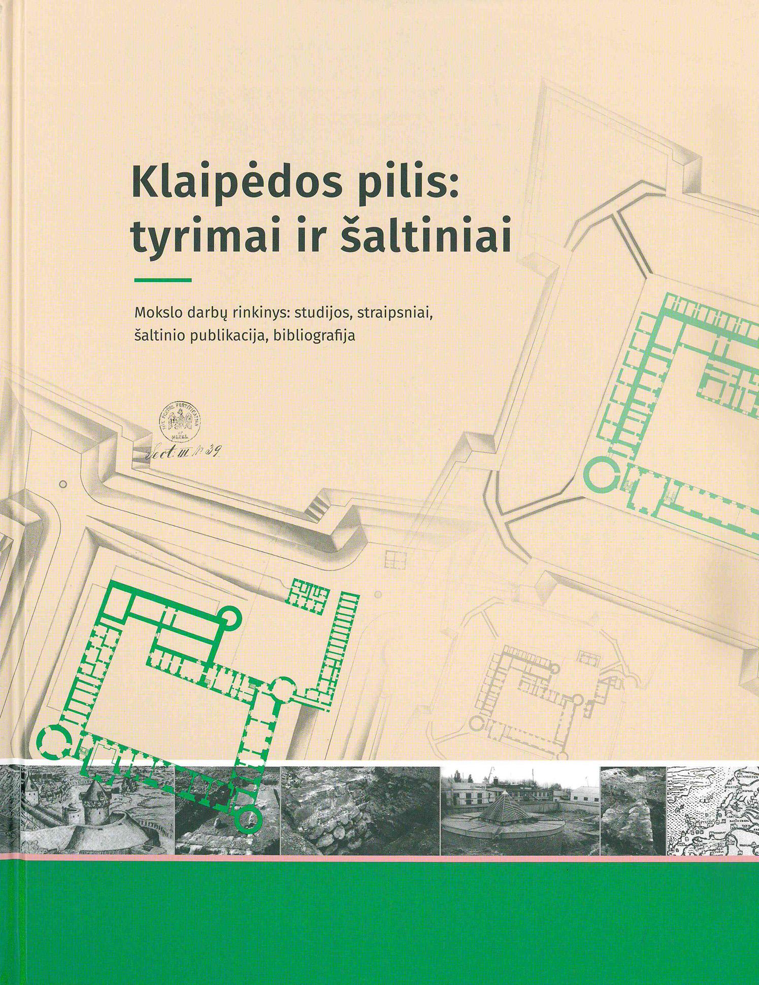 Bus pristatytas išskirtinis leidinys apie Klaipėdos pilį | Mažosios Lietuvos istorijos muziejaus nuotr.