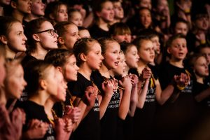 Knygų mugės Kultūros centrų salėje koncertuos Jungtinis Lietuvos vaikų choras | Rengėjų nuotr