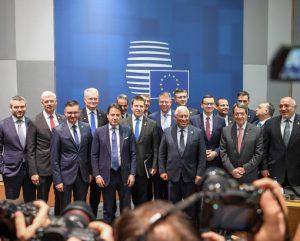 ES valstyvių vadovų susitikimas | Prezidentūros nuotr.