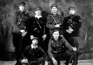 "Vytauto V. Landsbergio filmas ""Vanago portretas"" | R. Šeškaičio, V. V. Landsbergio asmeninio archyvo, V. Raupelio nuotr."