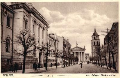 Gedimino pr., Vilnius | MA Vrublevskių bibliotekos nuotr.
