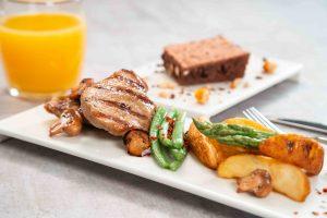 Maistas | airbaltic.lv nuotr.