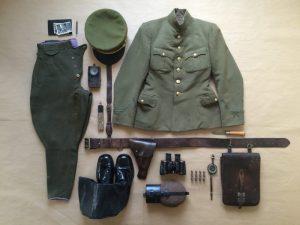 Tikra partizanų uniforma   G. Paulausko nuotr.