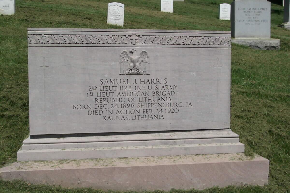 Antkapinis paminklas S. Hariui Vašingtono, Arlingtono kapinėse | arlingtoncemetery.net nuotr.