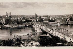 Aleksoto (Vytauto Didžiojo) tiltas 1920 m. | Asmeninės S. Sajausko kolekcijos nuotr.