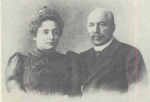 Petras Vileišis su žmona Alina (1904 05) | Lietuvos nacionalinės Martyno Mažvydo bibliotekos nuotr.