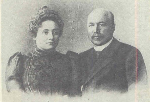 Petras Vileišis su žmona Alina (1904 05)   Lietuvos nacionalinės Martyno Mažvydo bibliotekos nuotr.
