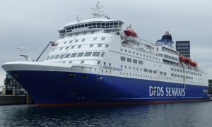 DFDS keltas | cruisemapper.com nuotr.