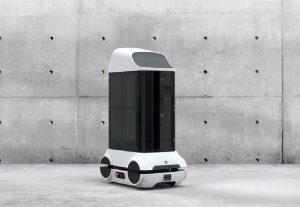 Lietuviai kuria vienintelį pasaulyje dezinfekcinį robotą kovai su COVID-19 | MITA nuotr.