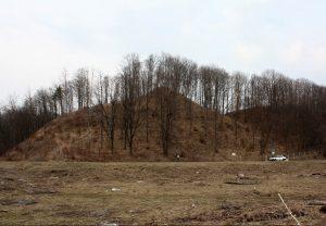 Kartupėnų piliakalnis, 2010 m. Bisenos pilis Kartupėnų piliakalnyje - pirmoji kryžiuočių užpulta pilis Lietuvoje | wikipedia.org nuotr.