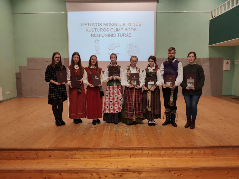 Lietuvos mokinių etninės kultūros olimpiados regioninis etapas | Rengėjų nuotr.
