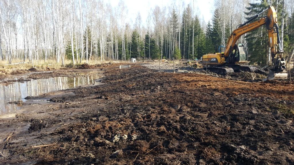 Mišrios konstrukcijos užtūros vandeniui sulaikyti statyba | glis.lt nuotr.