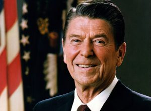 Ronaldas Vilsonas Reiganas (angl. Ronald Wilson Reagan) | wikipedia.org nuotr.
