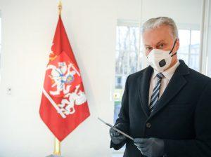 Prezidentas G. Nausėda | LRP nuotr.