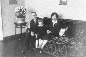 Tubelių šeima 1928 m. | A. Baltuškaitės archyvo nuotr.