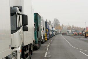 Krovininiai automobiliai | VSAT nuotr.
