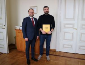 Mindaugas Kvietkauskas ir Kęstutis Pikūnas | lrkm.lt nuotr.