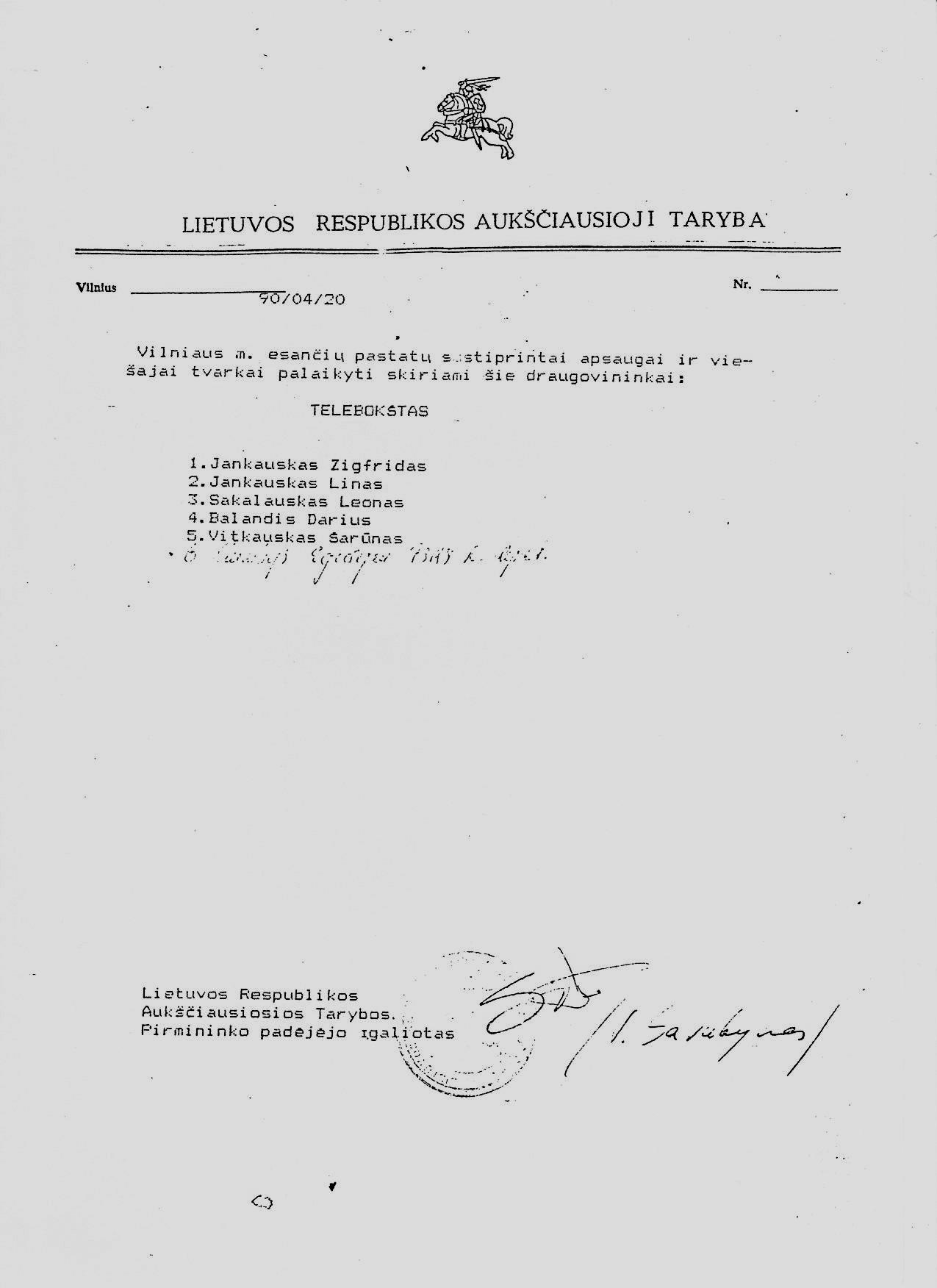 Z. Jankausko nuotr.