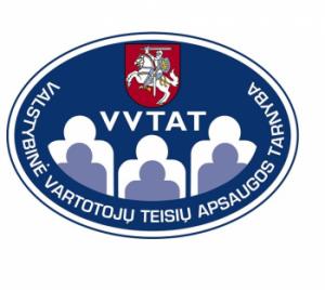 Valstybinė vartotojų teisių apsaugos tarnyba | vvtat.lt logo