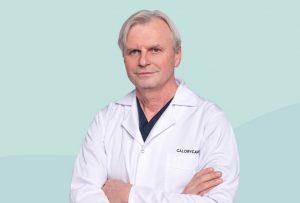 "Bariatrinio centro ""CaloryCare"" pilvo chirurgas, prof. Gintautas Brimas | ""CaloryCare""nuotr."