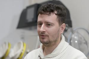Entomologas Dominykas Aleknavičius | LRT nuotr.