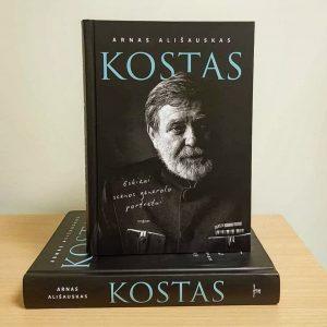 """Knyga """"KOSTAS: eskizai scenos generolo portretui"""", """"Tyto Alba"""", 2020   """"Tyto Alba"""" nuotr."""