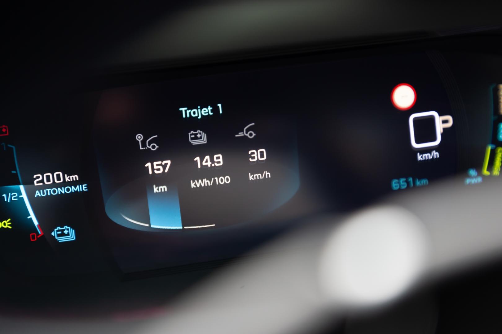 Elektromobilio borto kompiuteris | Velocita Media nuotr.