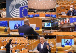 Europos parlamentas dirba nuotoliniu būdu | europarl.europa.eu nuotr.