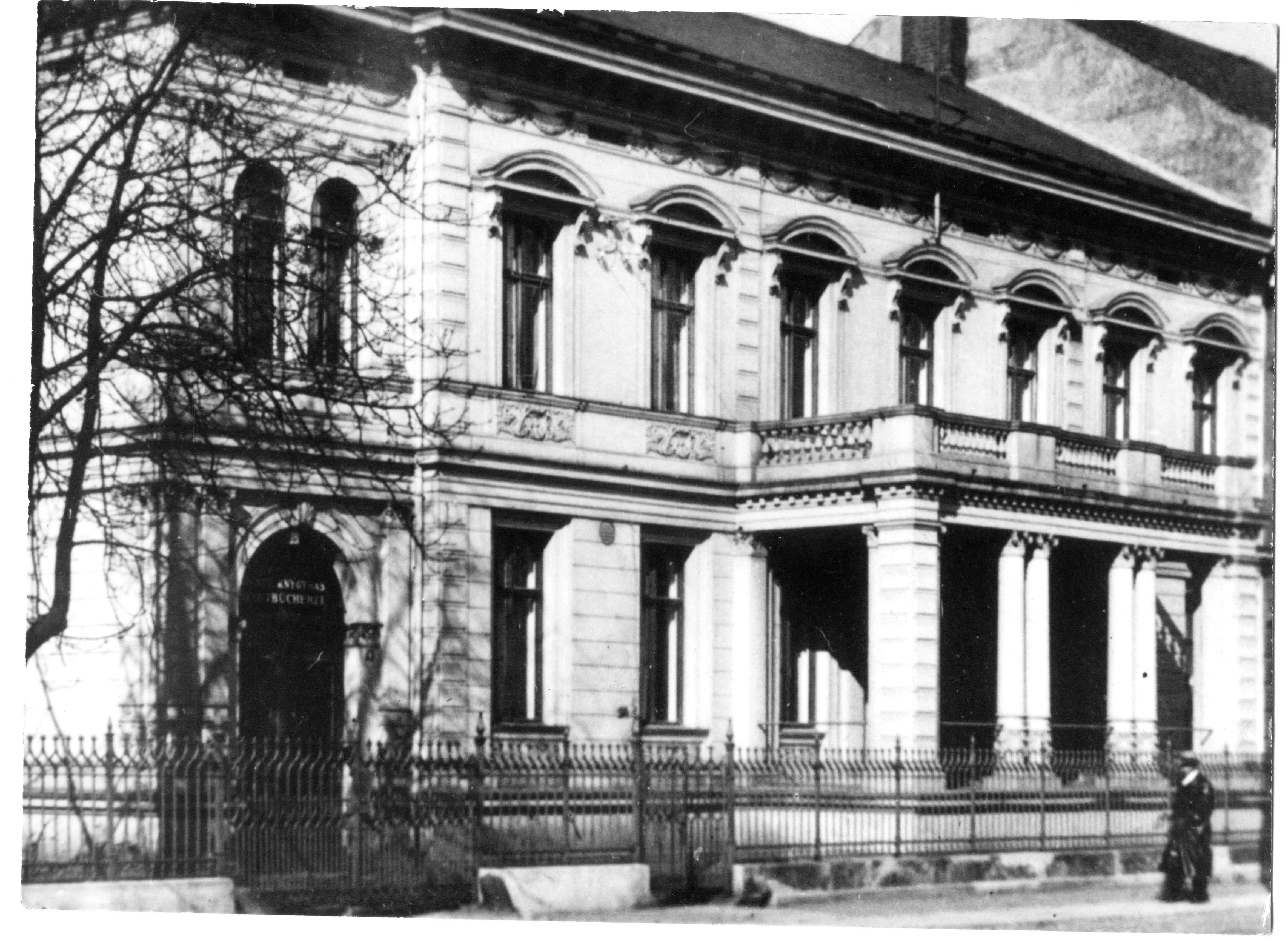 Klaipėdos miesto biblioteka 1936 | Klaipėdos bibliotekos nuotr.