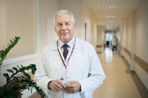 Medicinos fakulteto Klinikinės medicinos instituto Vaikų ligų klinikos profesorius Vytautas Usonis | E. Kurausko nuotr.