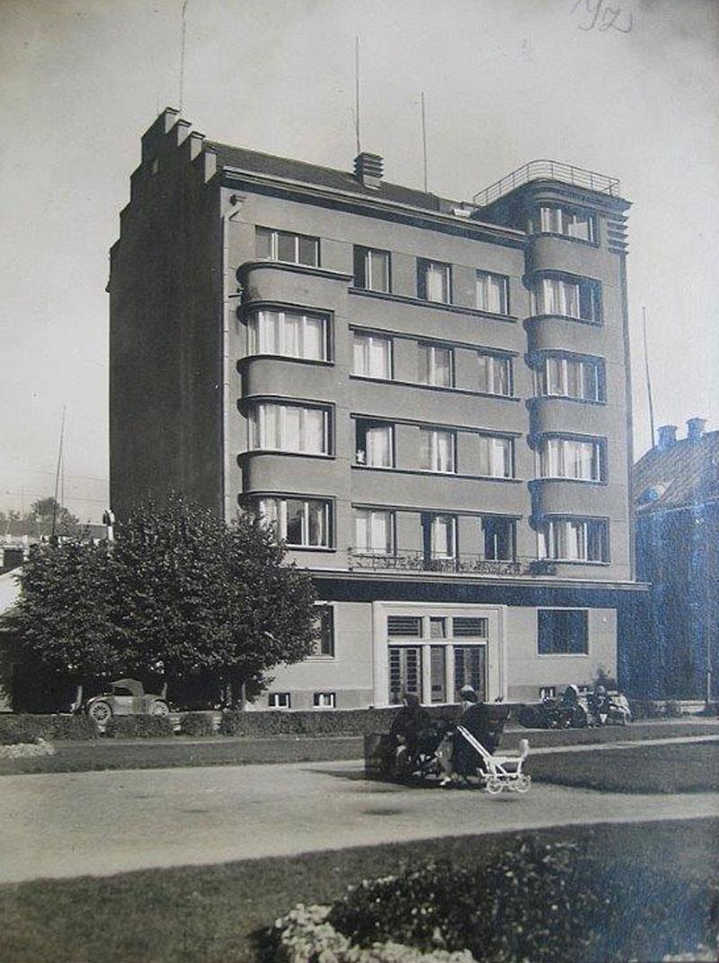 J. Vailokaičio namas, vokiečių sugriautas 1944 m. | KAVB fondų nuotr.
