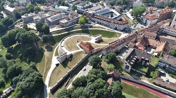 Vilniaus miesto gynybinės sienos bastėja | LNM nuotr.