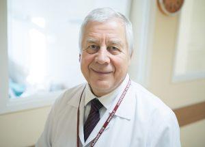 Medicinos fakulteto Klinikinės medicinos instituto Vaikų ligų klinikos profesorius Vytautas Usonis | Asmeninio archyvo nuotr.