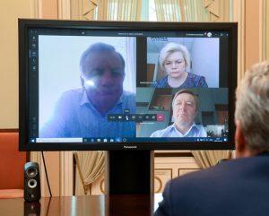 G. Nausėda, videokonferencija | prezidentas.lt nuotr.